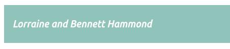 Great Acoustics: the Music of Lorraine and Bennett Hammond